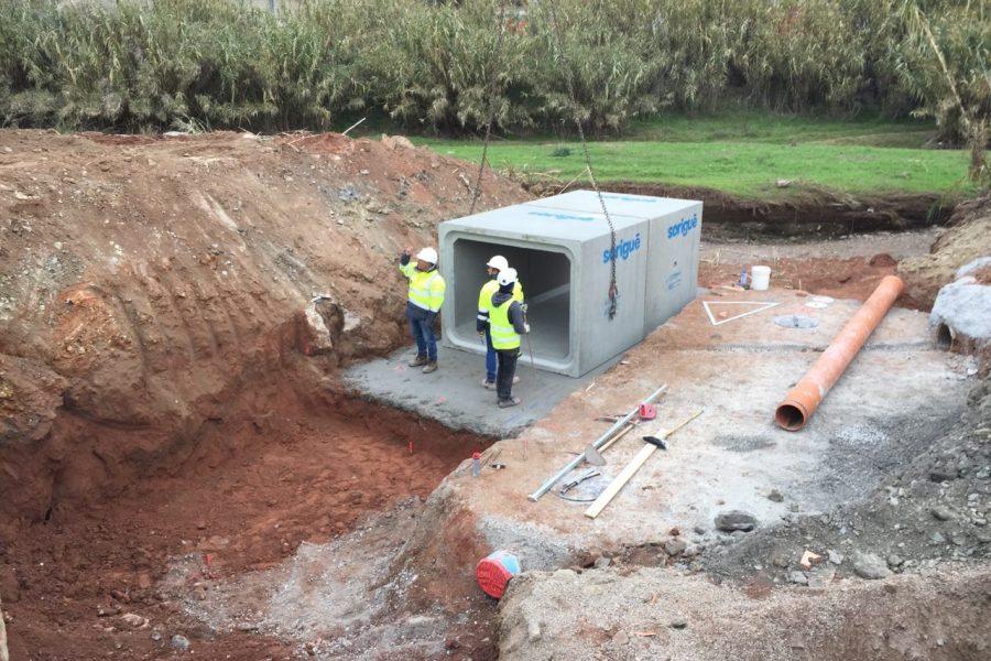 Renovació de la xarxa de clavegueram a Sant Vicenç dels Horts