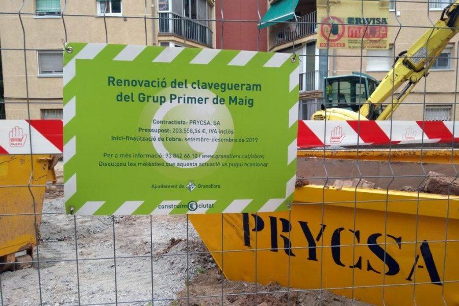 RENOVACIÓ DEFICIÈNCIES ESTRUCTURALS BLOCS PRIMER DE MAIG A GRANOLLERS