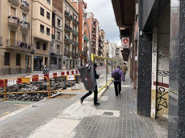 Convivència entre l'obra i el barri