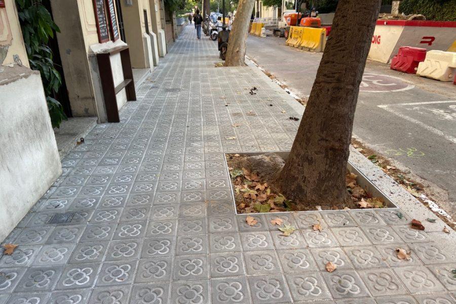 ARRANJAMENT DEL C.DEL ROSARI, ENTRE els carrers NENA CASAS I CASTELLNOU
