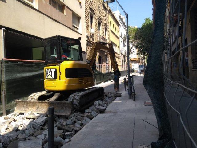 Abalisament i demolició