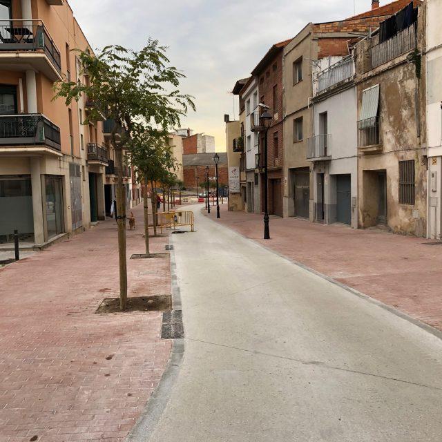 Endegament i cobriment de la Riera de Can Carreres a Olesa de Montserrat