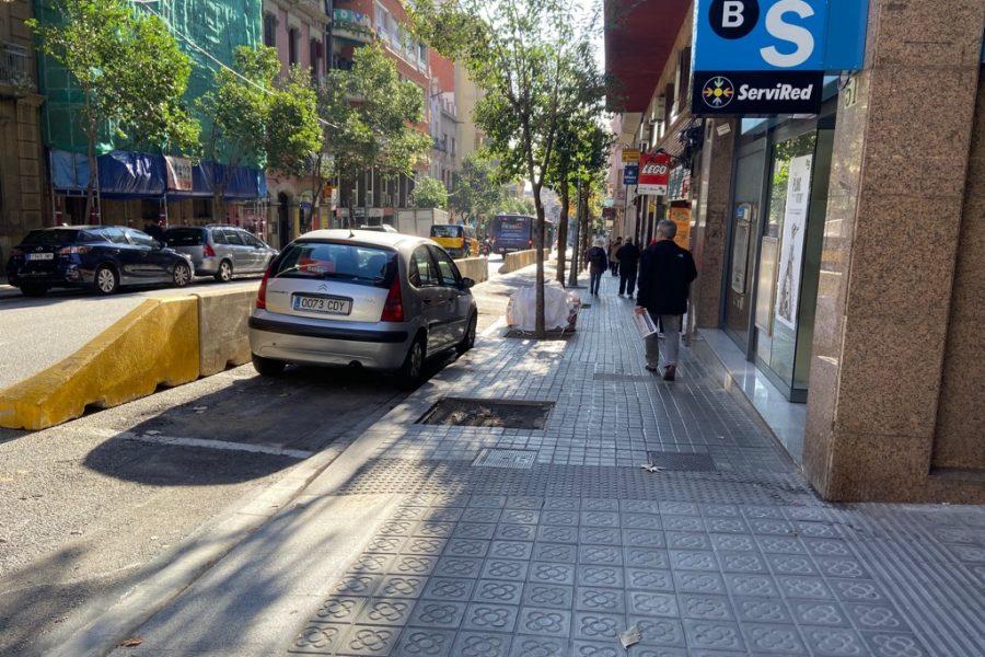 D'ARRANJAMENT DE LA VORERA DE L'AVINGUDA DE LA REPÚBLICA ARGENTINA