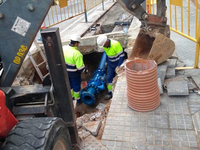 Renovació de la xarxa d'abastament d'aigua potable del carrer Mare de Déu de Lourdes